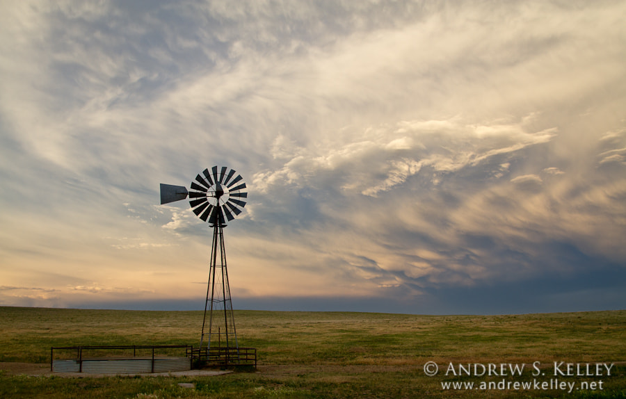 Photograph Prairie Sunset after a Storm by Andrew Kelley on 500px