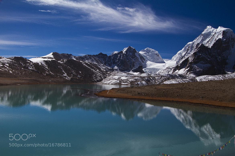 Photograph Gurudongmar lake by Subhojit Das on 500px
