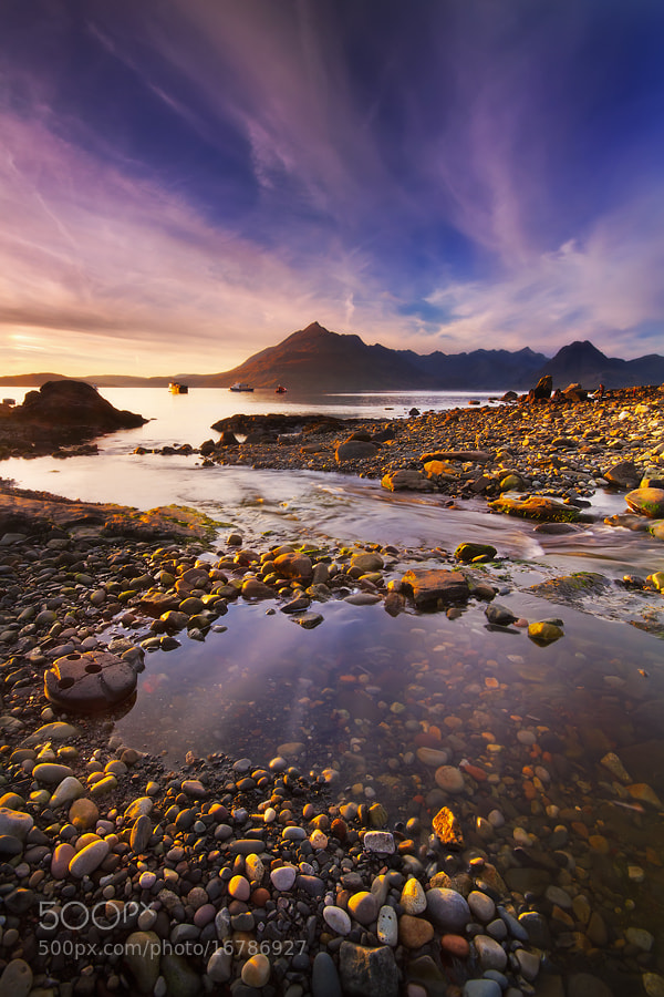 Photograph Pebbles of Elgol by Dylan Toh  & Marianne Lim on 500px