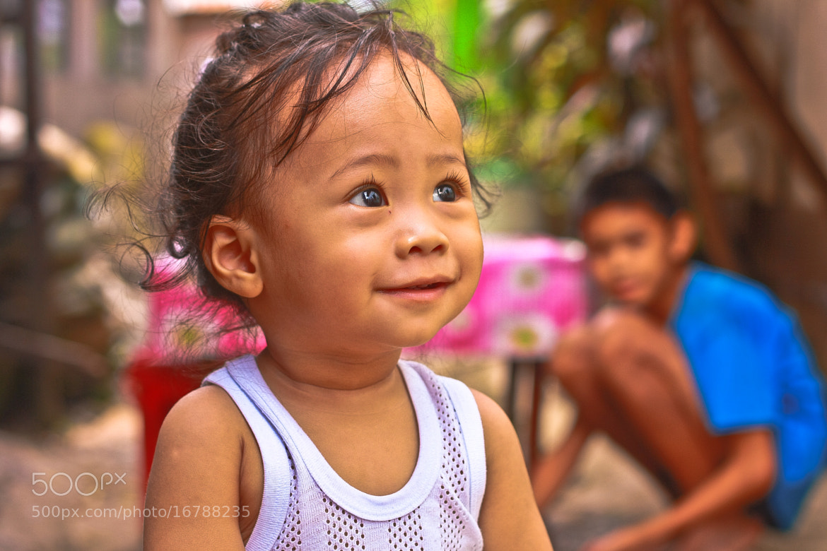 Photograph The Purest Smile ♥ by Elvic Waskin on 500px
