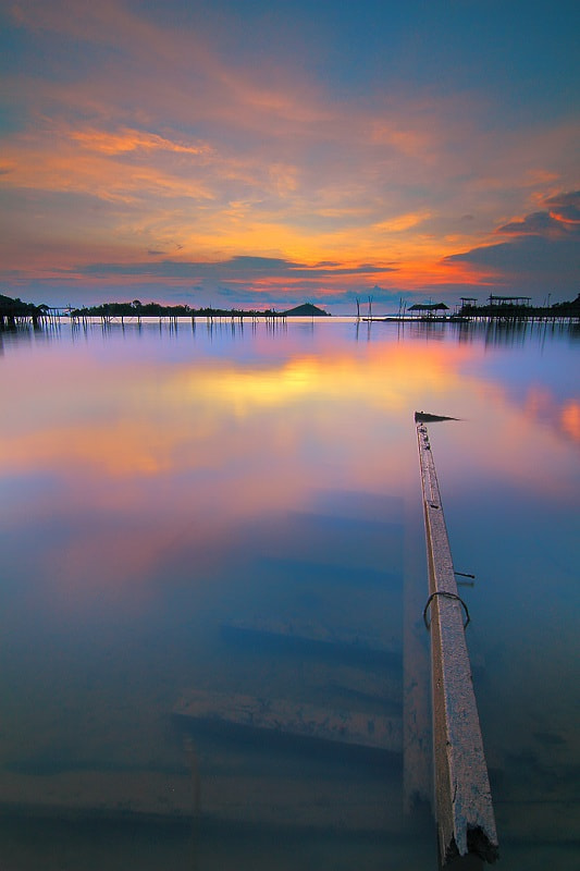 Photograph Reflection sunset by Vincentius Ferdinand on 500px