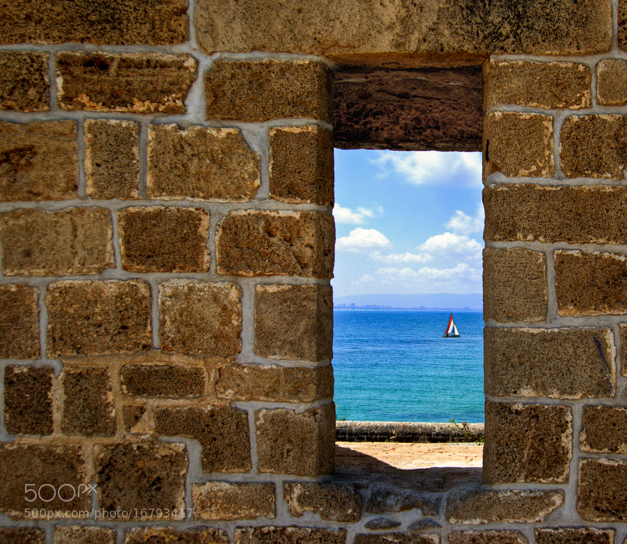 Photograph Window To The Sea by Natasha Pnini on 500px