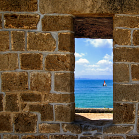 Window To The Sea by Natasha Pnini (natashapnini)) on 500px.com