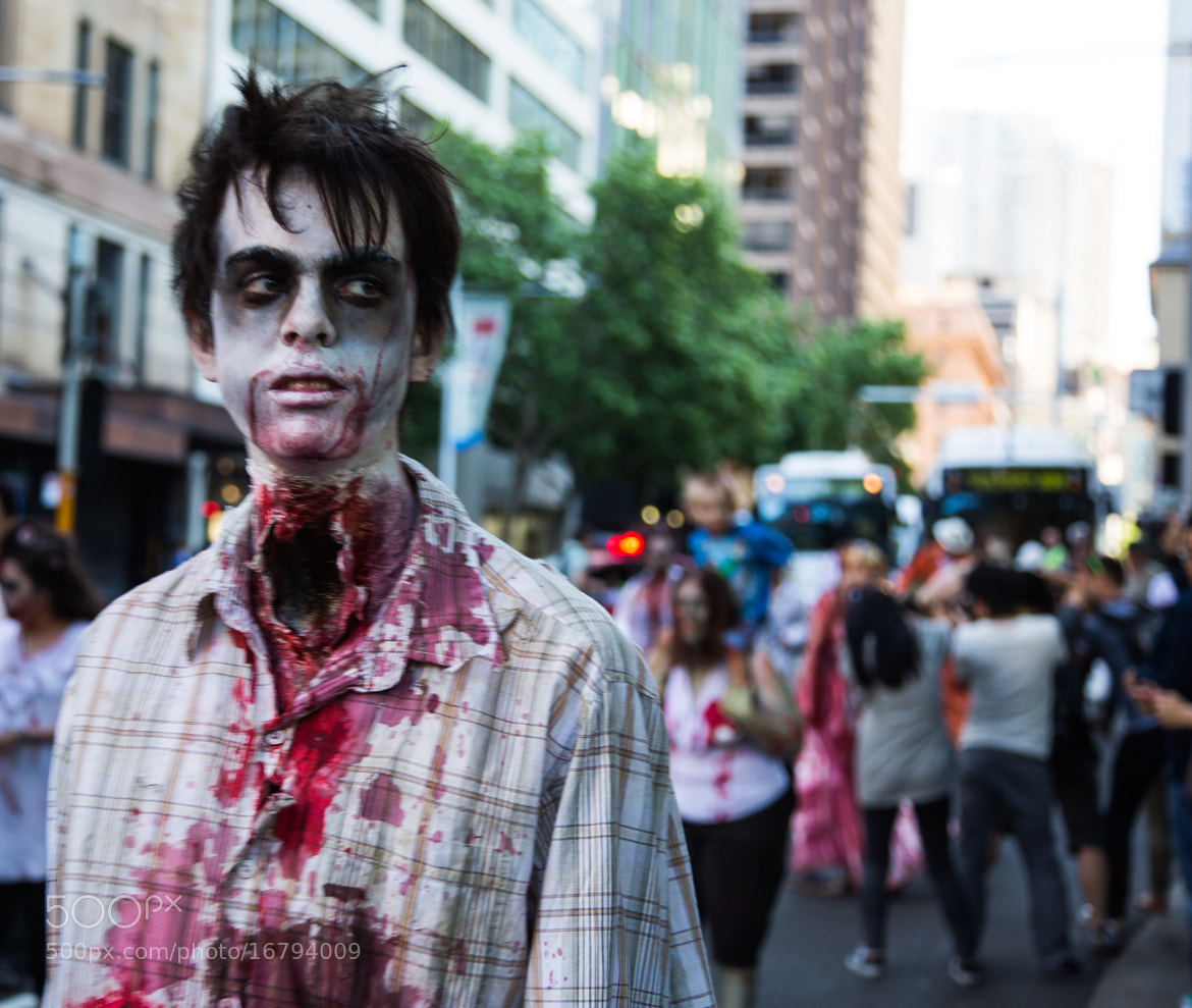 Photograph Zombies Invade Sydney by Kevin Brennan on 500px