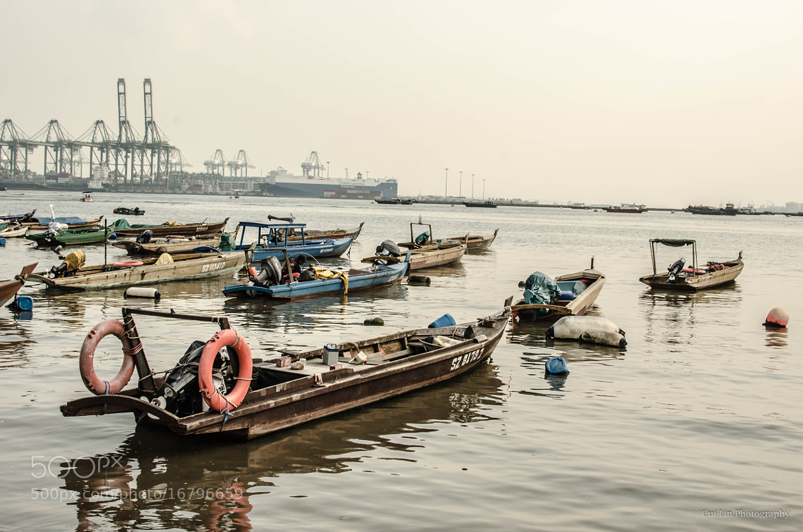 Photograph boats by CUI LIN on 500px