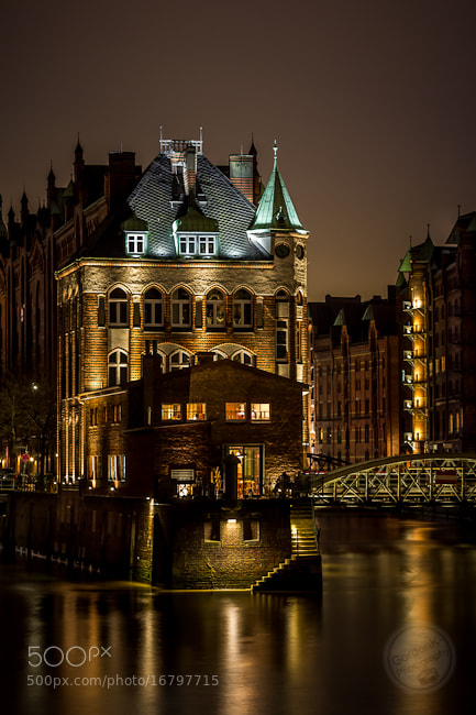 Photograph Wasserschlösschen Speicherstadt by Gordonk -Photography on 500px