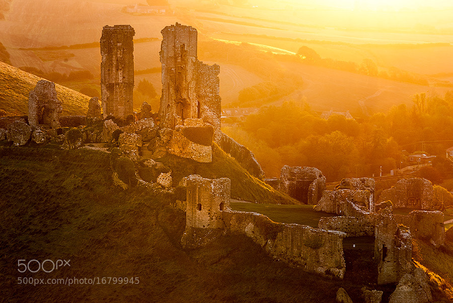 Photograph Corfe Castle  by Youcef Bendraou on 500px
