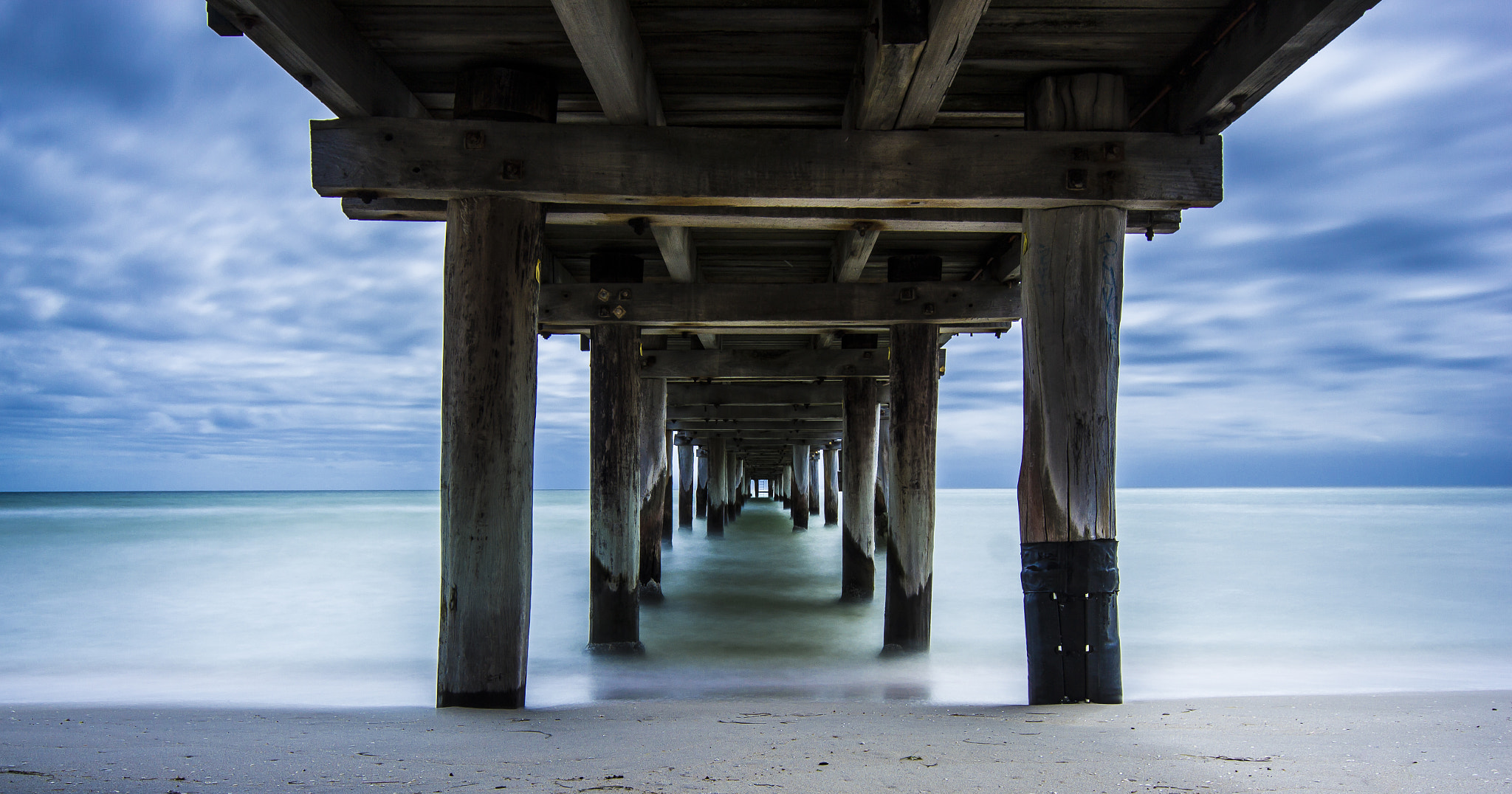 Photograph Under the Pier II by Gavin Queit on 500px