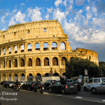 Rome Italy Colosseum, Canon IXY DIGITAL 25 IS