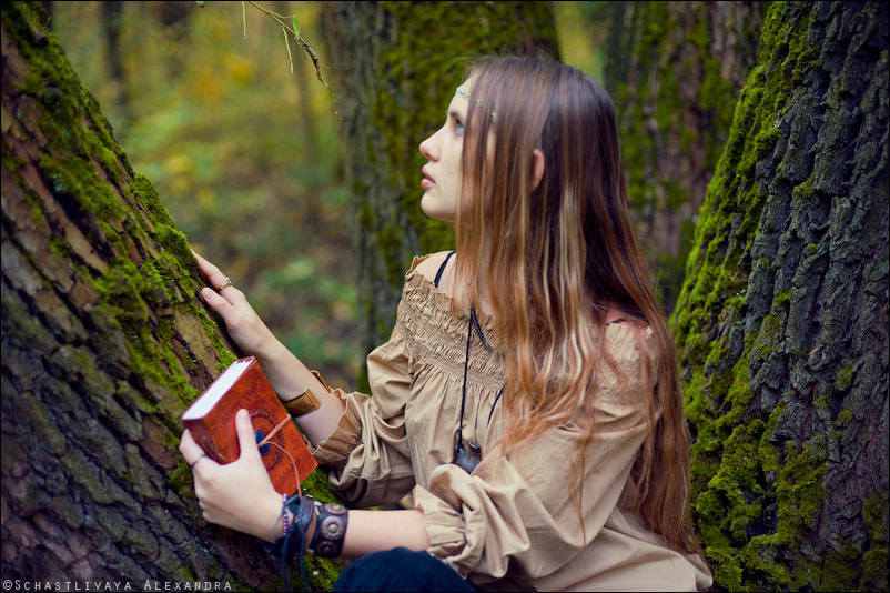 Photograph Talking to the trees by Alexandra Schastlivaya on 500px