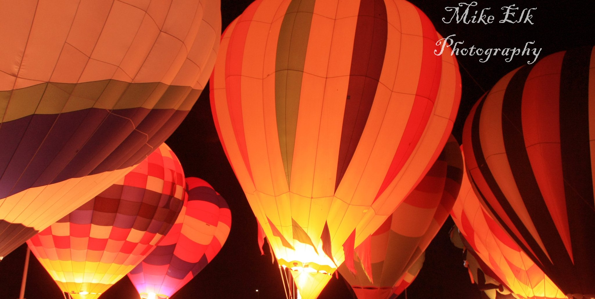 Photograph A night with Balloons by Mike Elk on 500px
