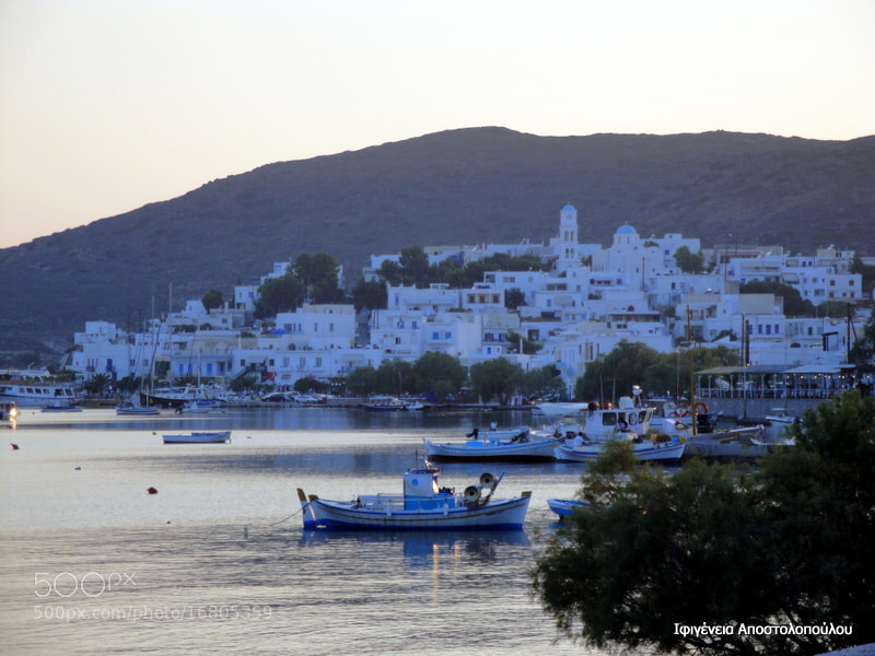 Photograph Adamas,Milos Island by Ifigeneia  Apostolopoulou on 500px