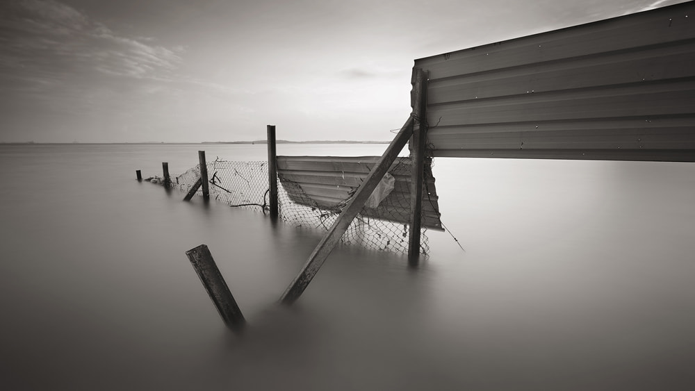 Photograph Sea Barrier by WK Cheoh on 500px