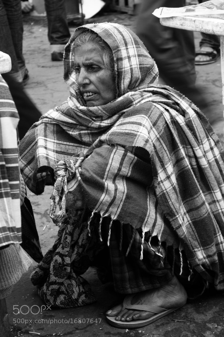 Photograph Granny Isn't So Happy by Dipayan Bhattacharjee on 500px
