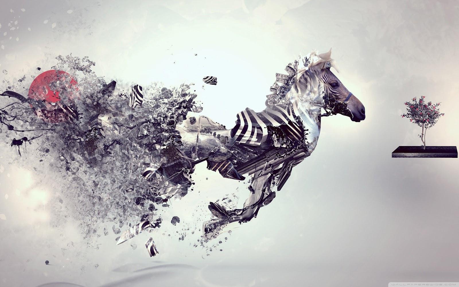 Exploding Zebra