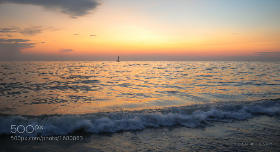 Photograph Longboat Sunset by Alan Brusky on 500px