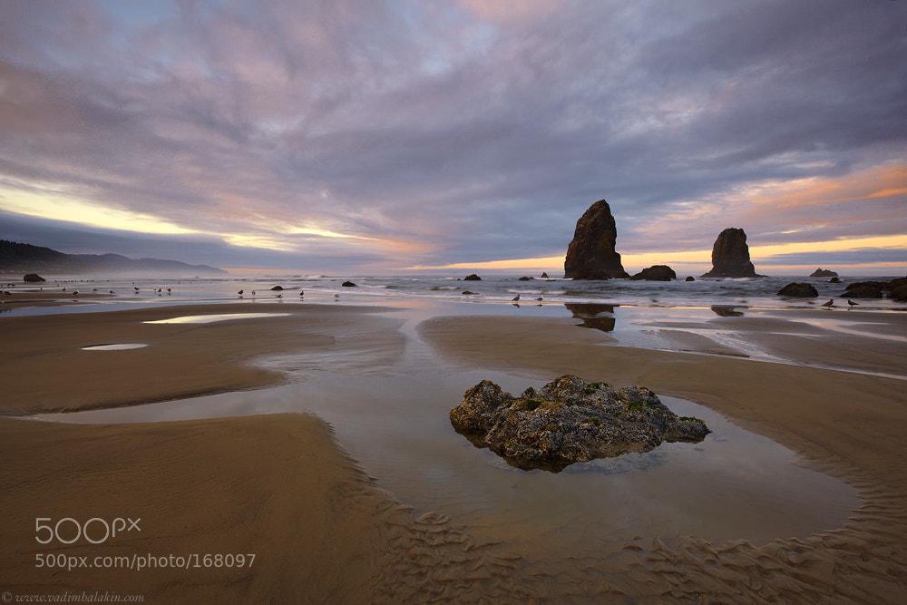 Photograph Sunrise at Cannon Beach by Vadim Balakin on 500px