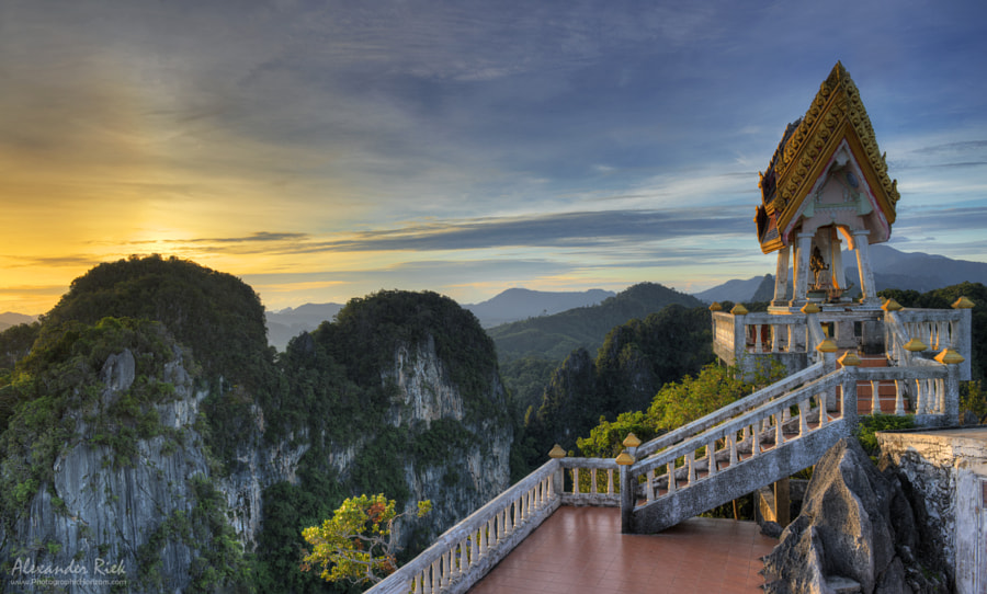 Tiger Cave Temple by Alexander Riek on 500px.com