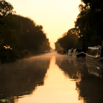 Fradley Junction early morning, Canon EOS 70D, TAMRON 16-300mm F/3.5-6.3 Di II VC PZD B016