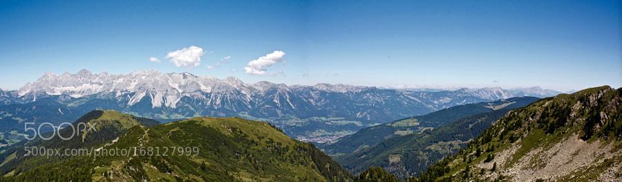 Panoramic Dachstein