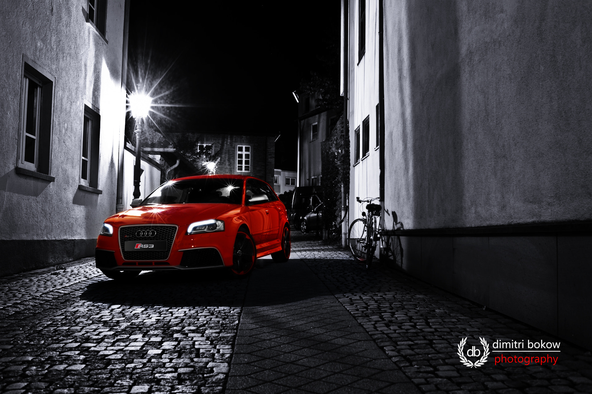 Photograph Audi RS3 by Dimitri Bokow on 500px