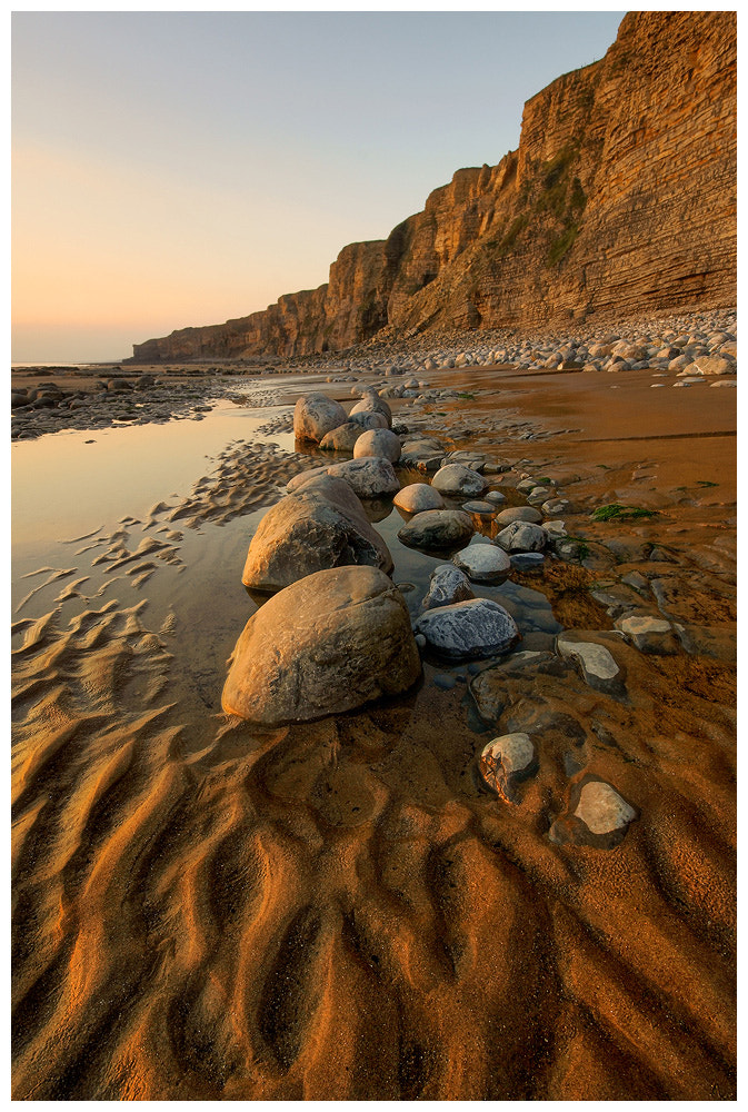 Photograph Sand and rocks by Geoffrey Baker on 500px