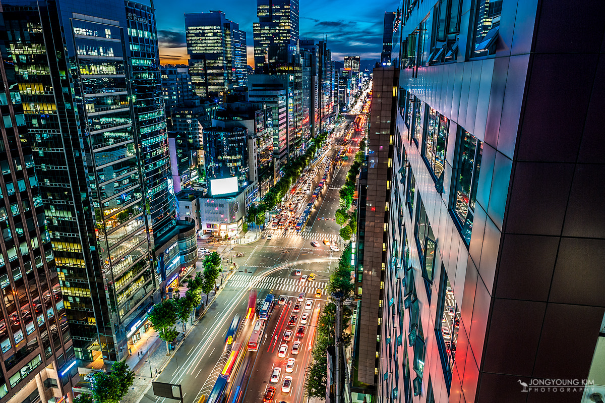 Photograph City Nightscape by JongYoung Kim on 500px