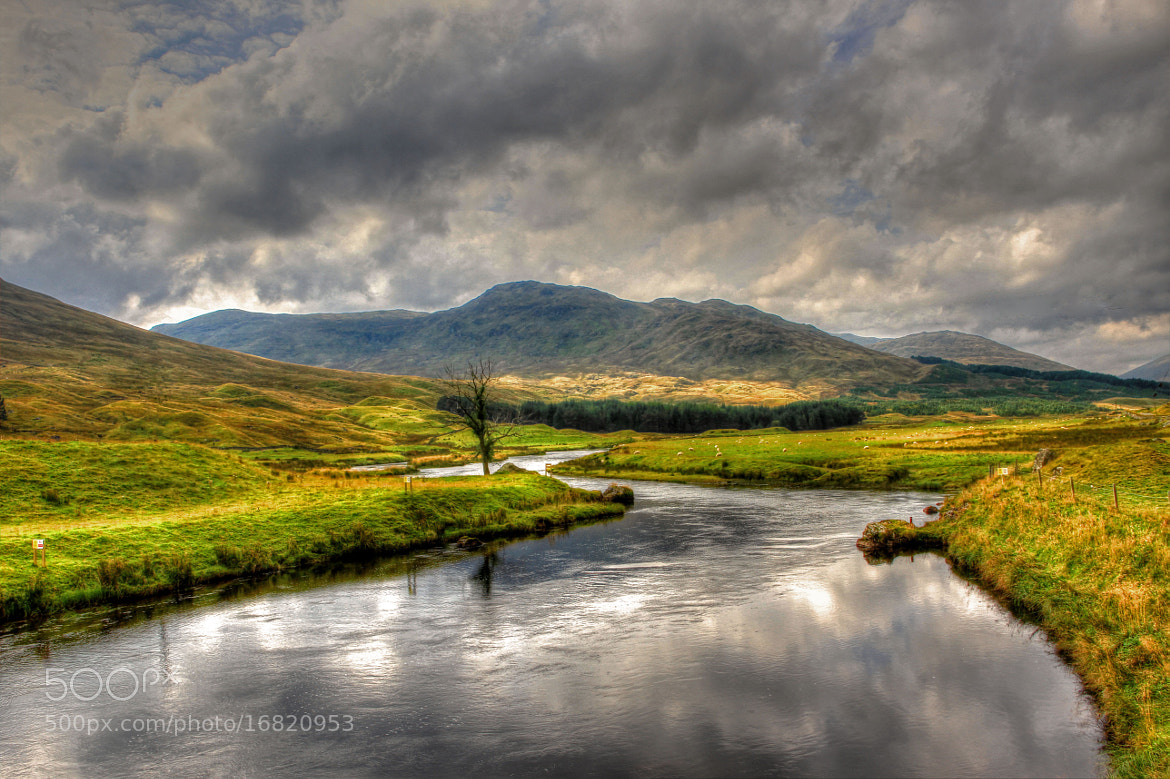 Photograph Stream In Glen Lyon by Hilda Murray on 500px