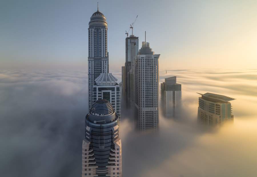 Merging of the complex-city by Dany Eid on 500px.com