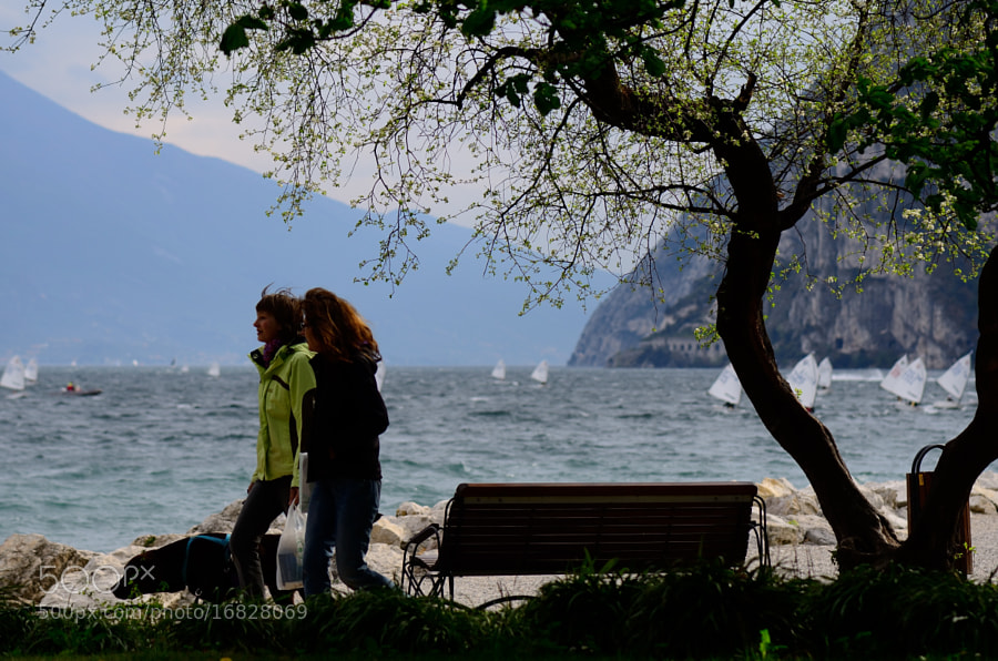 A shot From Riva Del Garda, Lake Garda, Italy