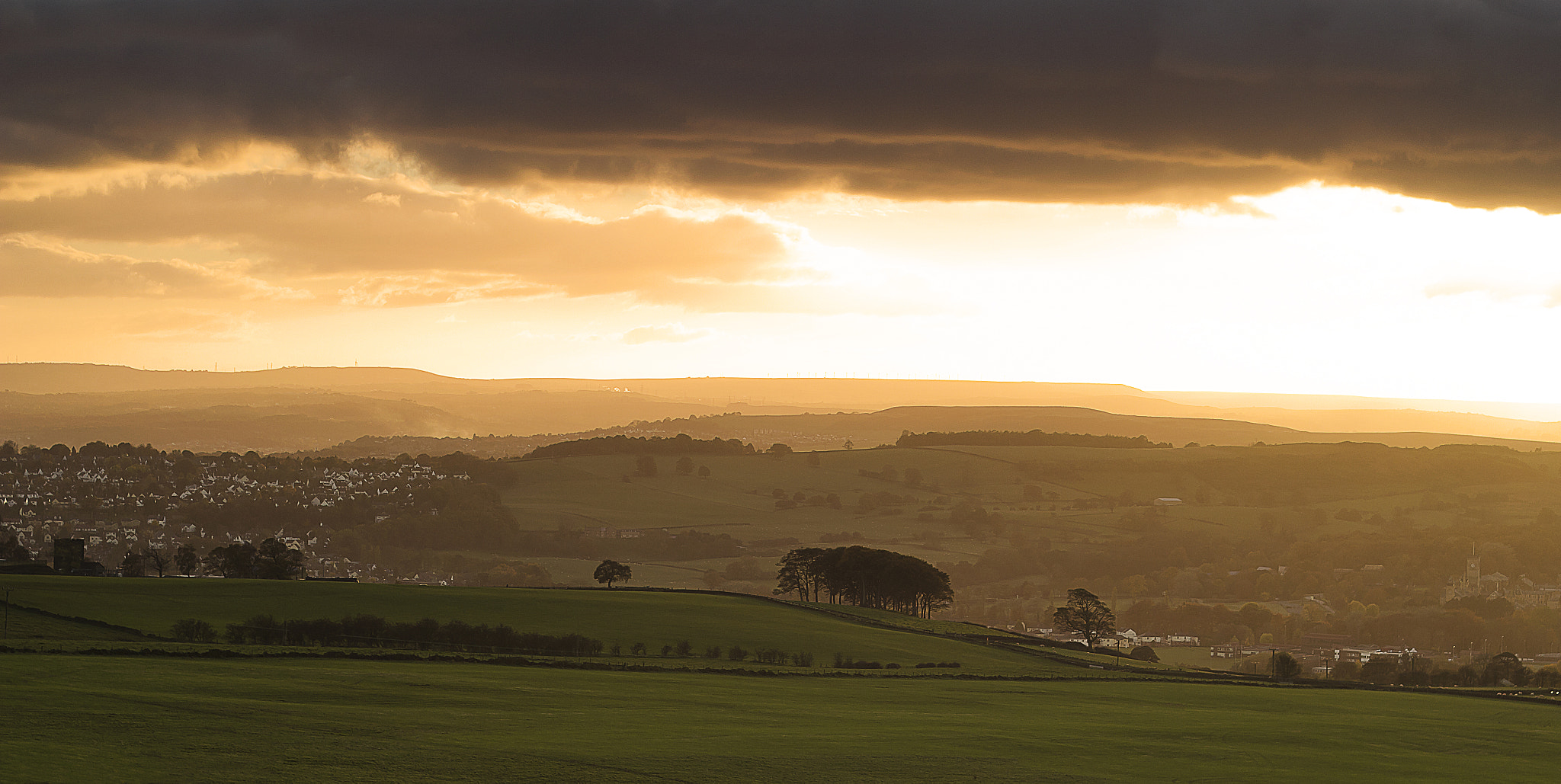 Photograph Sunset on the Chevin by Tom Forbes on 500px