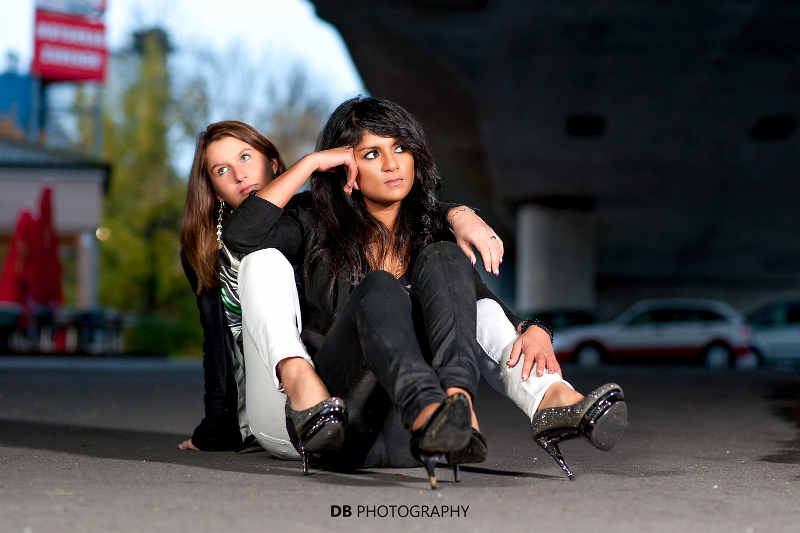 Photograph Yvonne and Sahar by Hans Weichselbaumer on 500px