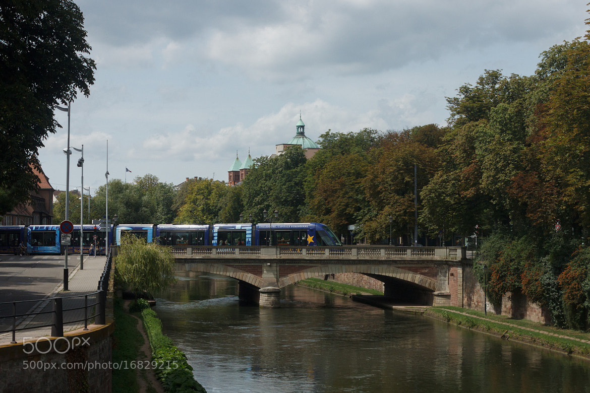 Photograph Tram à Strasbourg by Aurélien Ebel on 500px