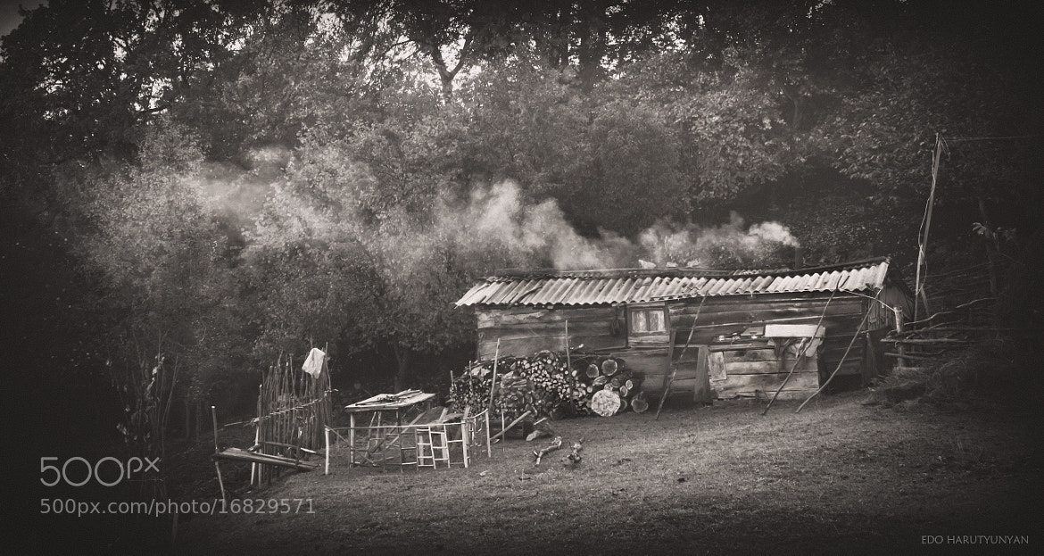 Photograph Smoking Hut  by Edo Harutyunyan /Lil Makaveli/ on 500px