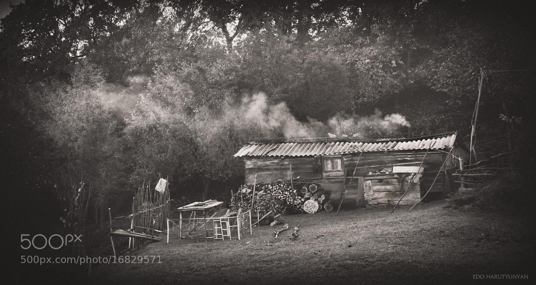 Photograph Smoking Hut by Edo  Harutyunyan on 500px