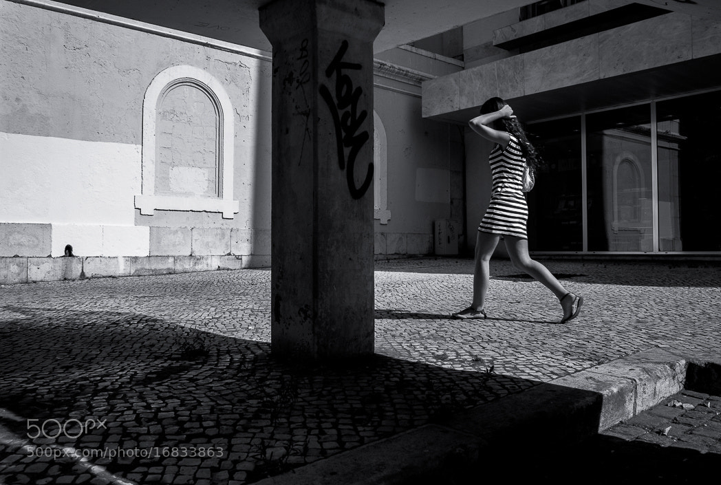 Photograph Walking Girl by Gerald Verdon on 500px