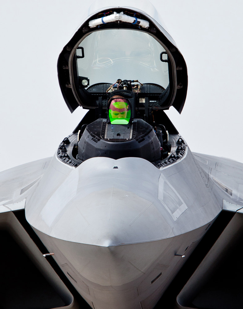 Photograph F-22  Check...check...check. by Frank Hatcher on 500px
