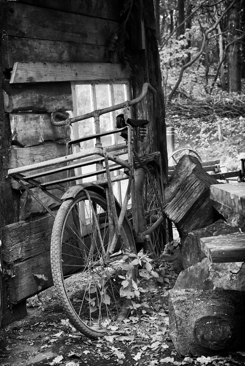 Photograph Retired Delivery Bike by Edwin van Nuil on 500px