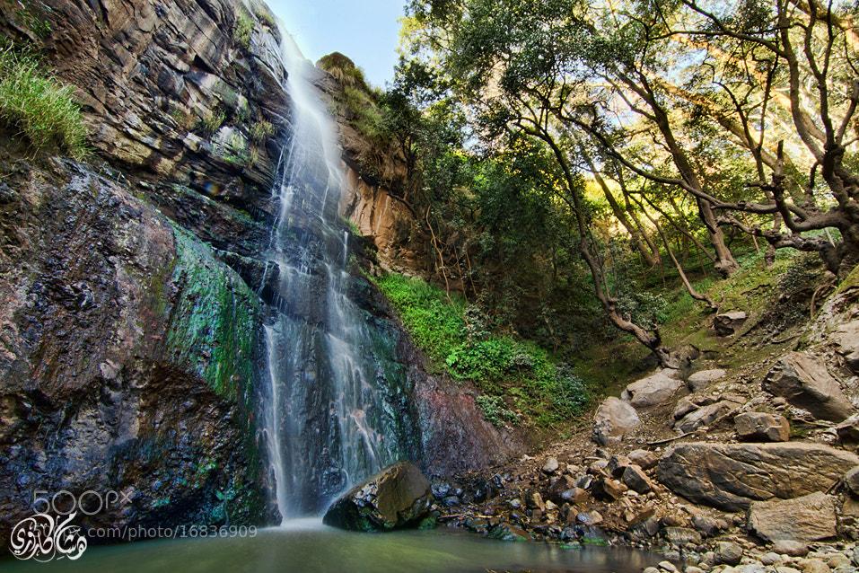 Photograph Waterfall by Hisham Karouri on 500px