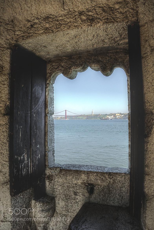 Photograph From window - Belem Tower, Lisbon by John Barker on 500px