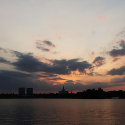 Park Sunset, Canon EOS 1200D, Canon EF-S 18-135mm f/3.5-5.6 IS USM