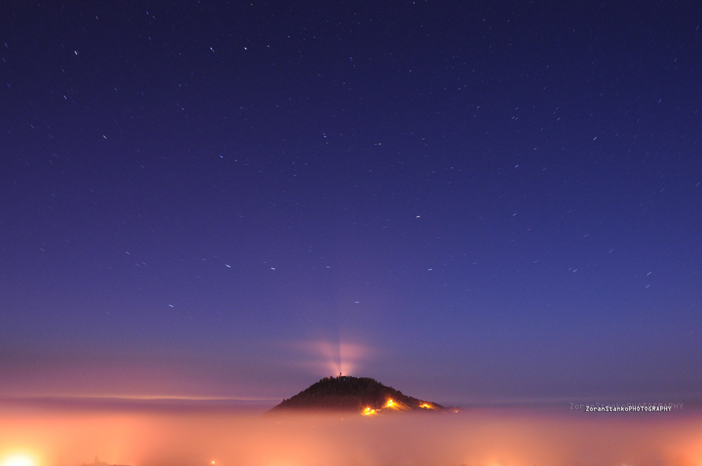 Photograph Above the 'sea of fog' by Zoran Stanko on 500px