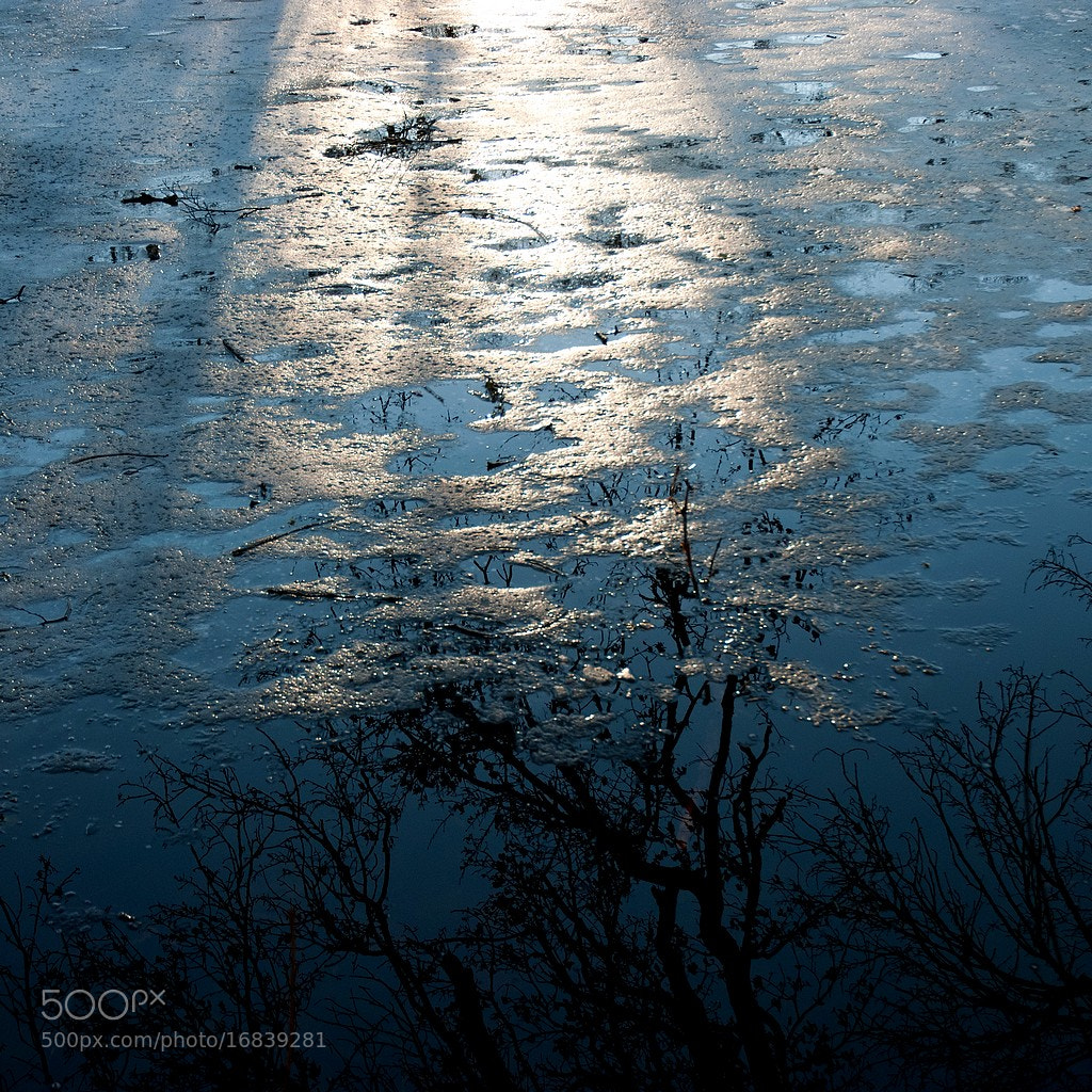 Photograph Frozen sunset by Pascal C. on 500px