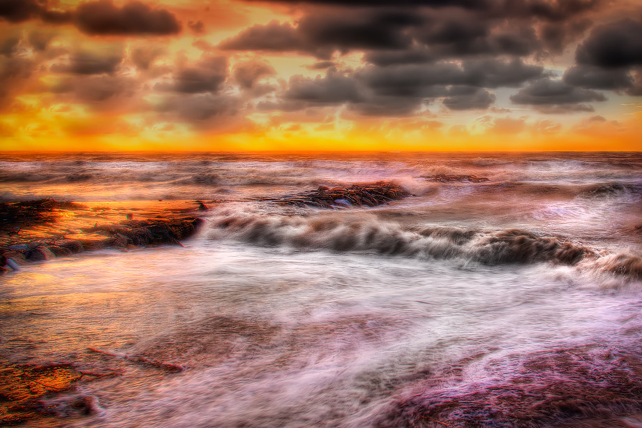 Photograph Stormy Sunset by Roberto Becucci on 500px