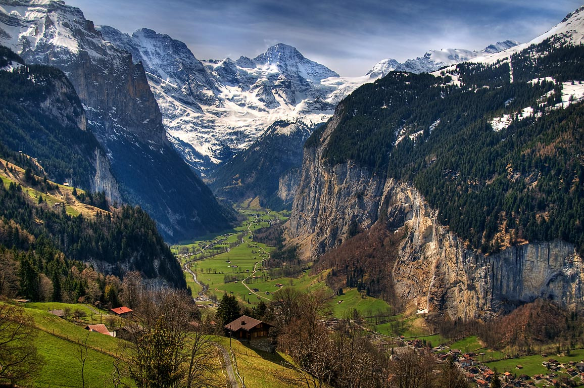 Photograph Valley floor from a moving train! by Chris Spracklen on 500px