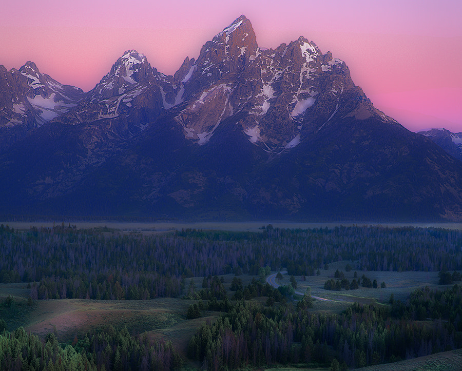 Photograph Teton Early September Sunrise by Jerry Patterson on 500px