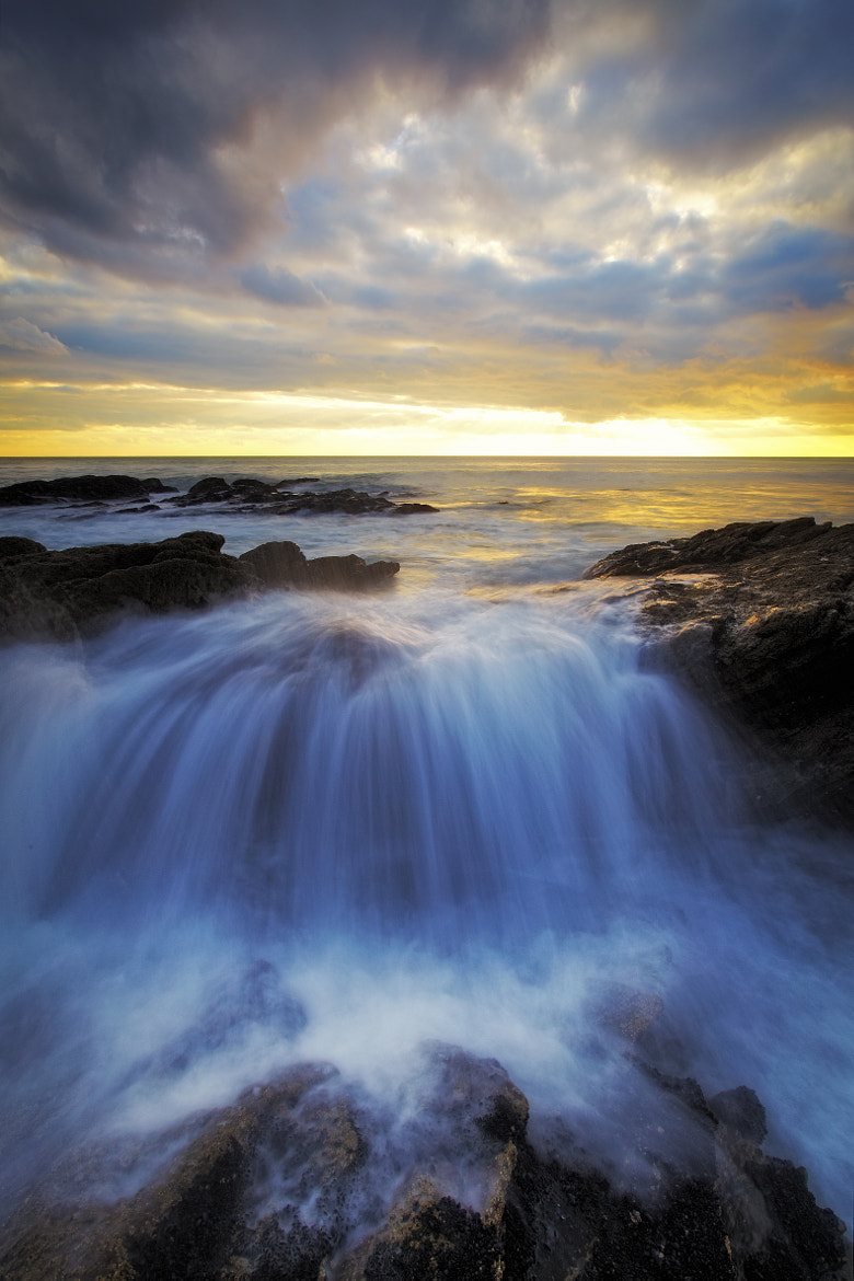 Photograph Coastal Cascade by Paul Morgan on 500px