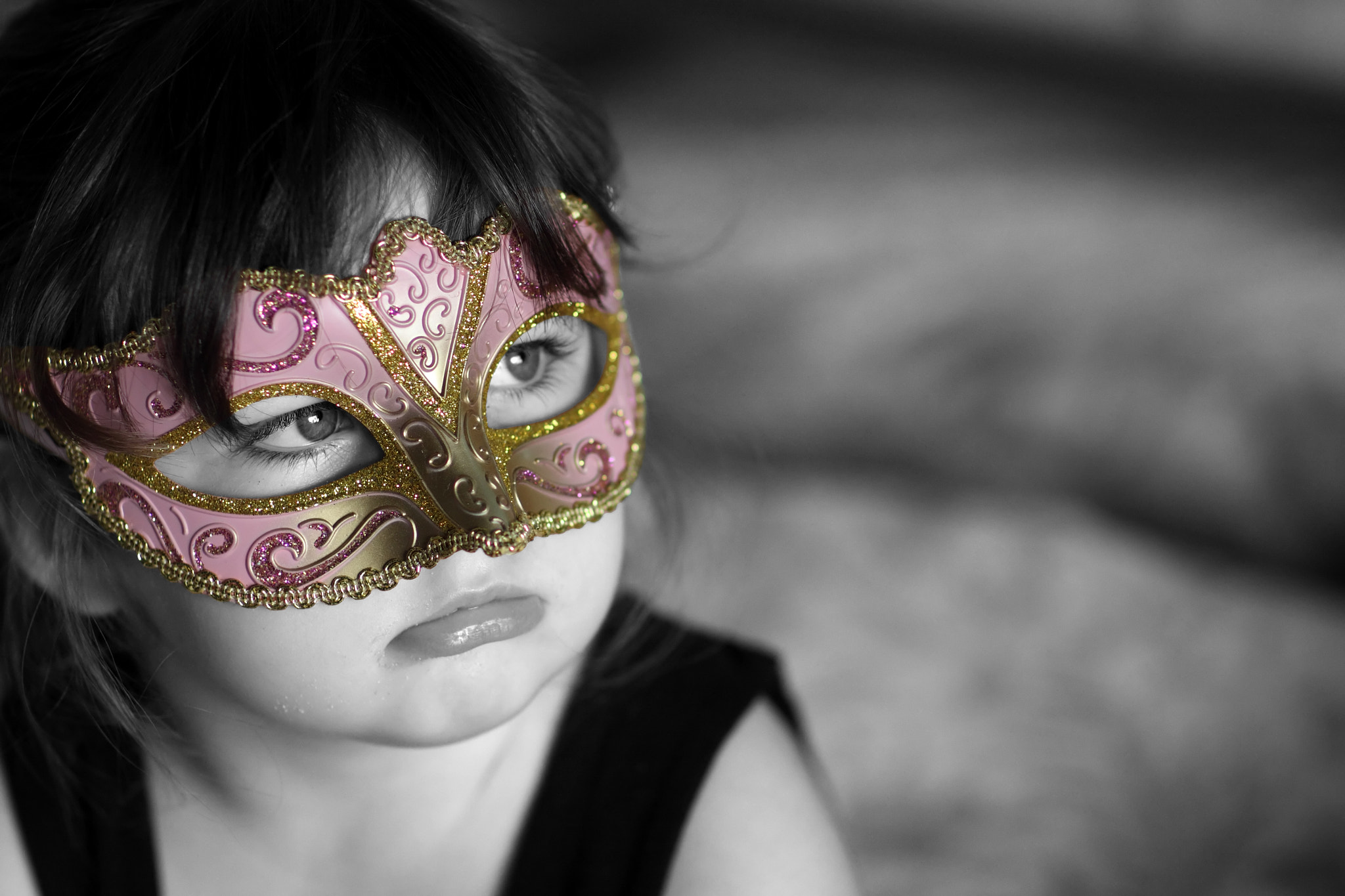 Photograph The Masquerade Girl by Michael Elford on 500px