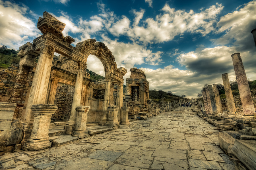 Photograph Curetes Street,Ephesus by Nejdet Duzen on 500px