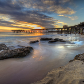 Sunrise at The Bay. by Warren Patten (WarrenPatten)) on 500px.com